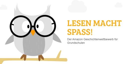 Lesen macht Spaß Amazon Wettbewerb Logo